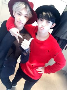 Hoshi & S.Coups - Matching colours, I like it, but sorry Hoshi I ship S.Coups with Jeonghan.