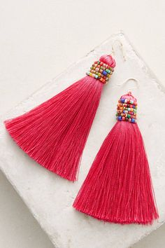 Slide View: 1: Latika Drop Earrings