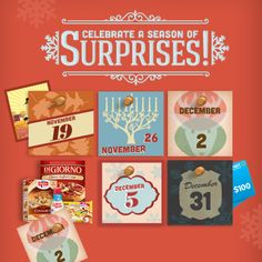 Join Nestlé for 14 days of giveaways! Enjoy coupons, holiday crafts and the chance to win Walmart Gift Cards all season long.