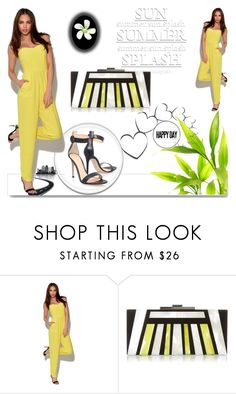 """Bez naslova #210"" by rilner ❤ liked on Polyvore featuring White Label, Halston Heritage and Gianvito Rossi"