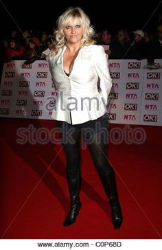 Camille Coduri National Television Awards 2008 held at the Royal Albert Hall - Arrivals London, England - 29.10.08 - Stock Photo