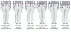 Jalie Jeans #2 - Fitting that Rise & the Front Pockets