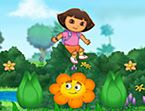 Dora the explore  is a fun cartoon that children love, Dora also teaches children Spanish in a fun and efficient way. This is a great way to teach children a second language such as Spanish.