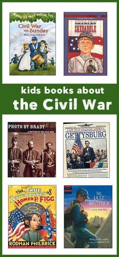 Life During the Civil War -- Best Children's Books Bring history alive with great kids books about life during the civil war, what caused the civil war, what it was like to be a solider. American History Lessons, African American History, Best Children Books, Childrens Books, Kid Books, Young Children, The Ventures, Civil War Books, History Magazine