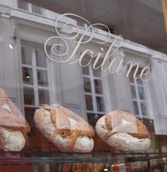 Poilane.........boulangerie in Paris ~* Love this bakery!!