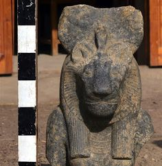 """""""An Egyptian-European archaeological mission working in Luxor Governorate uncovered a collection of 27 fragmented statues of the lioness goddess Sekhmet, Egypt's Ministry of Antiquities said in a statement on Sunday. He added that some of the statues depict the goddess Sekhmet sitting on the throne, holding the symbol of life in her left hand, or standing and holding a papyrus scepter in front of her chest. The head is crowned with a sun disk and the Uraeus adorns her forehead."""""""