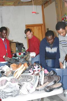 GeringCitizen.com - Shoe collection takes journey from Wyoming to Gambia [published 2014-12-04]