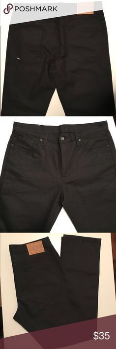 REBEL8 Original Black Slim Cut Jeans No tags, but these are brand new never worn Rebel Eight / REBEL8 original black slim cut jeans. 36W x 34L.  Will consider reasonable offers. Rebel8 Jeans Slim