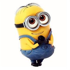 This little minion will give you a little smile on your face once you see him
