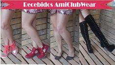 Recebidos Loja Amiclubwear- Primeira Parceria do Blog, virei mulher centopeia