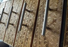 Cabinet Doors Laser Engraved Laser Cut Portland, OR 2