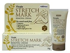 Finale Stretch Mark Removal Cream 50g. Reduces stretch mark ridges and discoloration *** You can get more details at