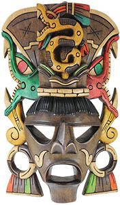 Wooden Mask:Serpent Headdress