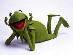 """""""It's not easy being green"""" - Kermit the Frog"""
