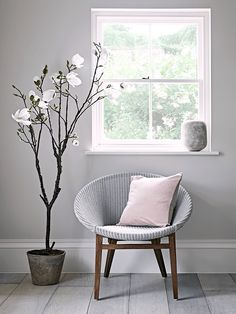 NEW Grey Woven Tub Chair