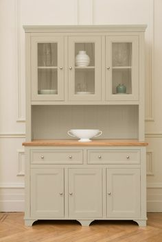 Casein Pink Kitchen Dresser From The Limited Edition Georgian Range