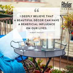 Believe, and see how life changes. #Quotes #InteriorQuotes #InteriorDesigning #HomeDecor #Lifestyle