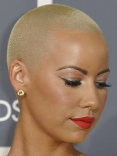 Bald Headed Black Women |  .blogspot.com/2012/09/why-some-black