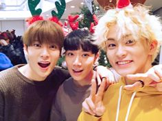 NCT Jaehyun, Ten & Mark