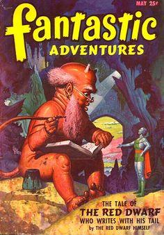 Publication: Fantastic Adventures, May 1947 Editors: Raymond A. Palmer Year: 1947-05-00 Publisher: Ziff-Davis Publishing Company  Cover: Robert Gibson Jones