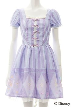 New Secret Honey Disney Miss Bunny from Bambi Lavender OnePiece Dress