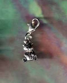Pet or Horse Jewelry Silver Teddy Bear Charm Dog Cat *** Additional details at the pin image, click it  : Cat accessories