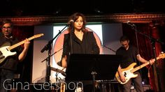 "Music for the Future Concert, April 2017 - Gina Gershon sings ""Creep"""