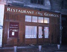 Chez Georges on rue du Mail in Paris-favourite resto in Paris, delicious.