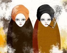 The Others by Fulya Hocaoglu, via Behance