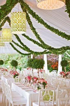 Wedding Tent Ideas For A Stunning Reception ★ See more: https://www.weddingforward.com/wedding-tent/13
