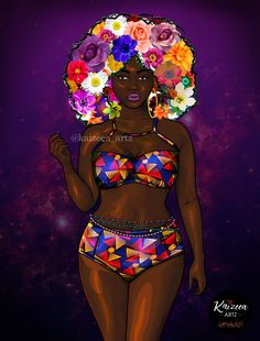 Home - Kaizeea Artz- A Daydreamer that creates from Love, Soul and the Guided Spirits. Black Love Art, Black Girl Art, Black Girl Magic, Art Girl, Afro Painting, Drawings Of Black Girls, Black Girl Cartoon, Sister Pictures, Black Art Pictures