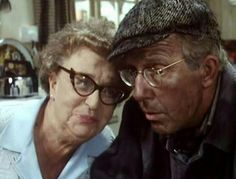 Edie and Wesley British Tv Comedies, Classic Comedies, British Comedy, British Actors, Classic Movies, Last Of Summer Wine, English Comedy, British Humor, Uk Tv