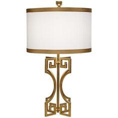 Philadelphia Gold Leaf Table Lamp LOVE THIS LAMP