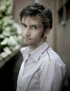 David Tennant.  If he looked at me like this, I'd fall at his feet and doing anything he wanted!!!