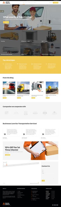 Transport Company Services #Wordpress #template. #themes #business #responsive #Wordpressthemes