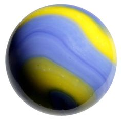 """Massive Glass """"Van Gogh"""" Marble - 42 mm - by House of Marbles"""