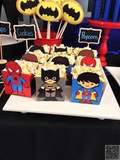 13. fête d'anniversaire de #super-héros - 23 totalement #génial faveurs en fête…