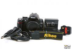 Nikon D5000 Digital Camera Body 12.3MP DSLR Boxed Only 1640 Shots! 6666429