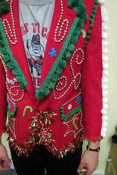 Buddy the ELF Light Up Ugly Christmas Sweater by UglySweatersForU ...