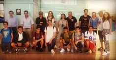 No los echéis mucho de menos! Los padres de #pepperdine en el aeropuerto de #Barcelona#WeLoveBS #Idiomas #Inglés #verano #Cursos #Travel #Language #Summer #Amigos #Friends