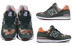New Balance 574 « Mountain Green » by Ball and Buck