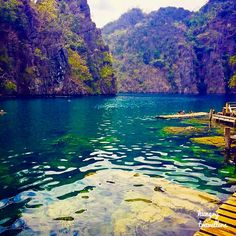 Don't you want to jump in ? Lake Kayangan, Coron, Philippines.