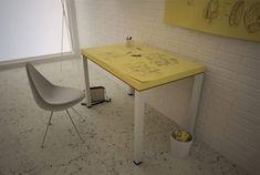 Das handig! Post-it memo bureau. #interieur