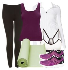 """""""Lydia Inspired Work Out Outfit"""" by veterization ❤ liked on Polyvore featuring Topshop, LolÃ«, Joan Vass, Puma, women's clothing, women, female, woman, misses and juniors"""
