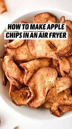 Air Fryer Oven Recipes, Air Frier Recipes, Air Fryer Dinner Recipes, Baked Apples Healthy, Healthy Snacks, Cooks Air Fryer, Air Fried Food, Air Fryer Healthy, Air Frying