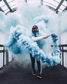 Azul de niebla
