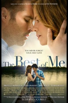 Poster - The Best of Me: Nicholas Sparks.