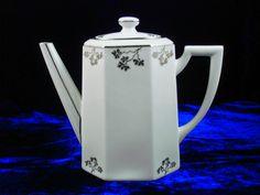TLB Limoges Art deco teapot pattern number- 1203