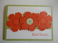 Easy Mixed Bunch Card by lauriesv - Cards and Paper Crafts at Splitcoaststampers