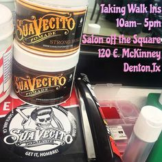 DENTONTX... I\'m at Salon off the Square til 5pm today! Come in and start the week off fresh with a cut and/or shave!!! All cuts styled with Suavecito Pomade !! #mateotxbarber #txbarber #denton #dentontx #salonoffthesquare #suavecitopomade #barbering #dentonslacker #doingitdenton #dentonite #thedentonite #den10 #lild #unt #twu #nctc #wedentondoit #wddi #scoutdenton